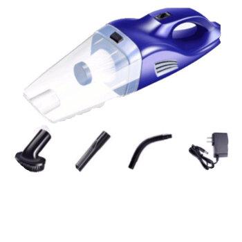 車載掃除機ワイヤレス家庭用車内の大出力2台のミニ小型充電車専用無線宝石ブルー