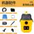 欧圣扫除机の桶式の乾湿は3を吹いて床板の家庭用电気制品の小型を持って静音の全国の共同保证12 L AT 18 123 P扫除机の黄色を持ちます。
