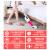 杉貝掃除機家庭用超静音カーペット式強力除ダニミニパワーカーペット赤-A死角クリアコース