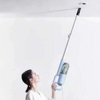 小型熊掃除機家庭用ハンドヘルド/スタンド式携帯除ダニ強力吸引力無消耗材カーペット式掃除機XCQ-B 04 A 1ブルー