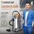 ジェイノ掃除機家庭用商用ホテル絨毯工場の大吸力大仕事率乾湿二用桶式工業掃除機吸水機洗車場用202-50 Lアップグレード版オレンジ
