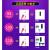 信帝(XINDI)信帝掃除機家庭用超静音携帯カーペット式強力ダニ除去ミニパワー標準版
