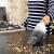 アメリカ百得家庭用無線携帯小型乾湿両用掃除機WD 7201黒